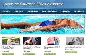 cursos gratuitos com certificado na área de educação física e esporte