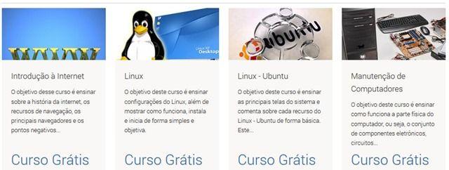cursos gratuitos com certificado de informática