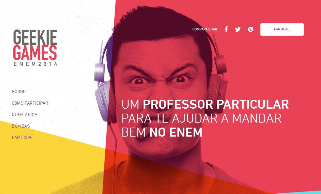 simulado do enem 2014 Geekie Games