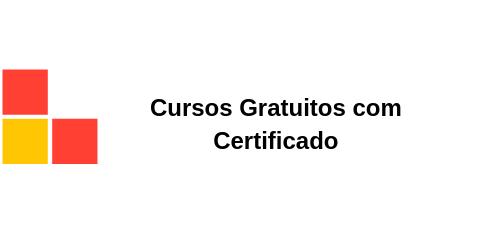Cursos gratuitos com certificado